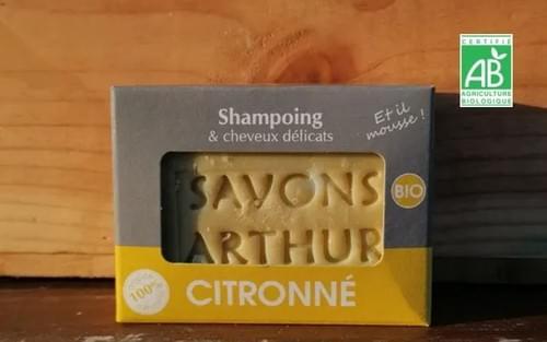 Shampoings solides BIO - Les Savons Arthur - Essonne (91)