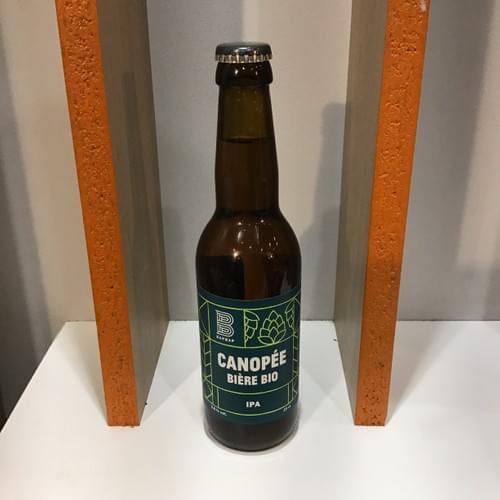 Bière BIO - 33 cl - brasserie Bap Bap (Paris 11e arrondissement)