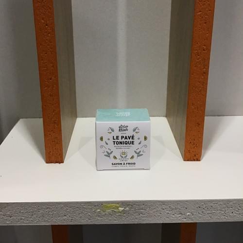 Pavé tonique (vert) - Atelier Populaire - boîte 90g
