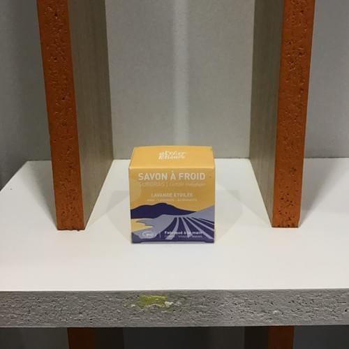 Savon lavande étoilée - Atelier Populaire - boîte 90g