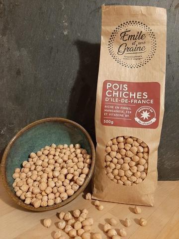 Pois chiches - 500 g - Emile et une Graine