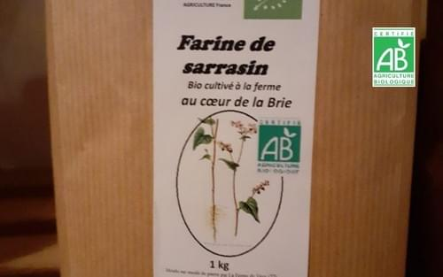Farine de sarrasin BIO - 1 kg - Rémi Seingier
