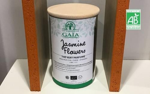 Thé Jasmine Flower vrac - 100 g - Les Jardins de Gaia