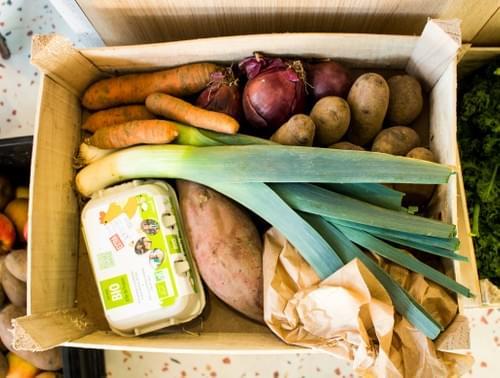 Panier de fruits et légumes - 1 panier - bio, local et de saison
