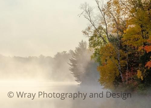Crown Mist, Notecard