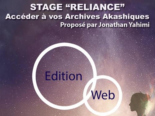 """Stage """"Reliance - Accéder aux Archives Akashiques"""" - Edition Web"""