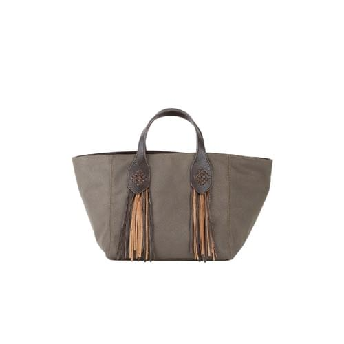 Small  fringe Tote in Rpet