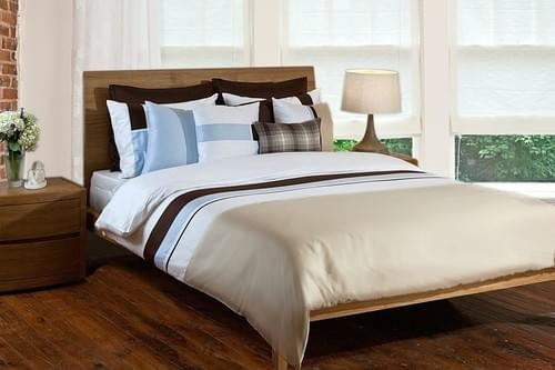 SHADOW SN.303 – BLUE & BROWN BEDDING COLLECTION