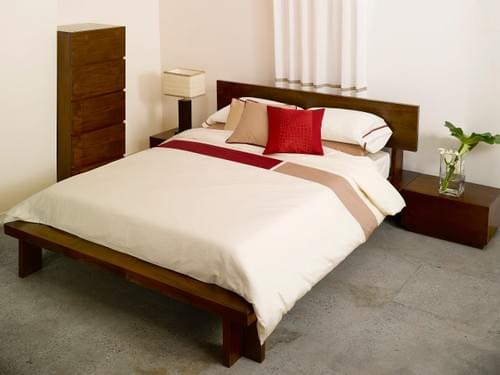 MODERN CULTURE SN.105 –RED/TAUPE BEDDING COLLECTION