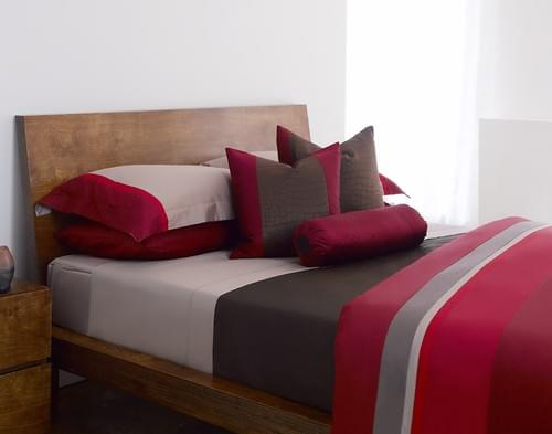 SHADOW SN.301 – RED, TAUPE & GREY BEDDING COLLECTION