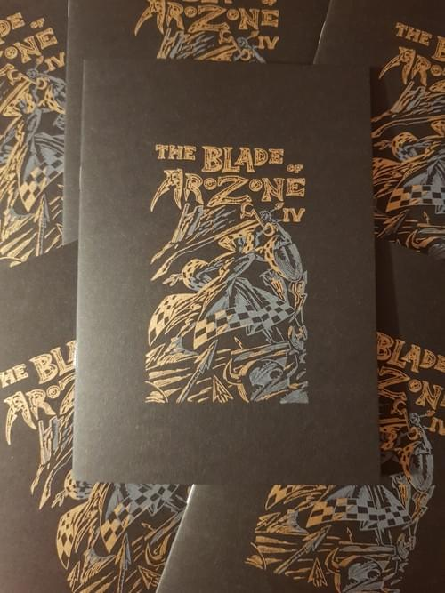 Blade of Arozone: Issue 4