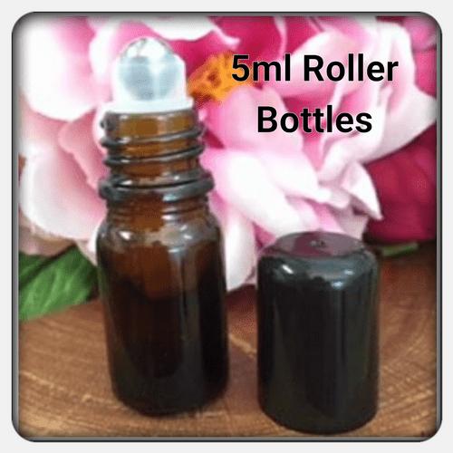 5ml amber roller bottles