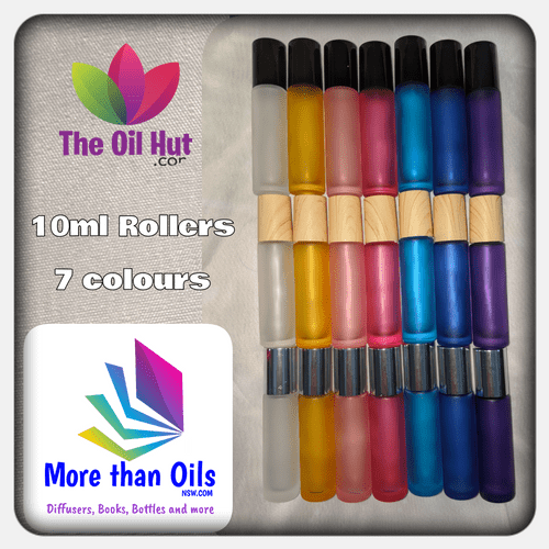 Frosted 10ml Roller Bottles