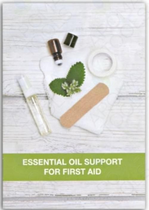 Esential oils for first aid support