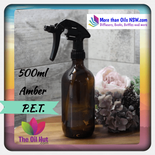 500ml PET spray bottles