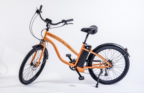 Avocado Electric Premium Beach Cruiser- Coligny