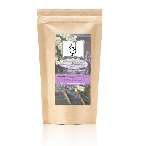 Relaxing Artisan Lavendar-Chamomile Tea (Caffeine Free)
