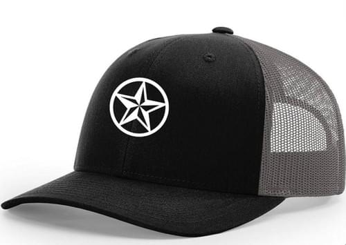 NSC Black Out Star hat