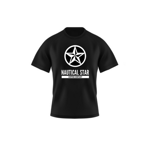 Nautical Star BLACK OUT T-shirts