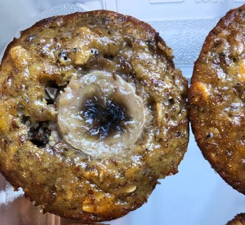 cookie 'n banana protein muffins