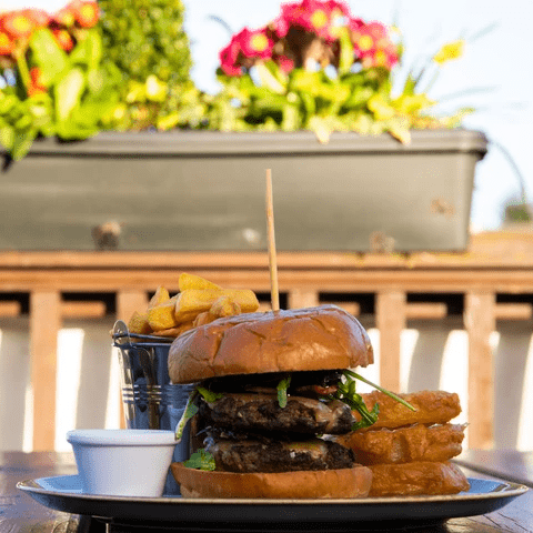 Clifford's Butchers Grilled Beef Burger