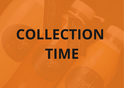 Please choose a collection time and ADD TO CART