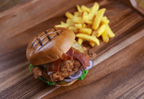 Special - Southern Fried Chicken Burger