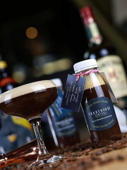 Whiskey Espresso Martini