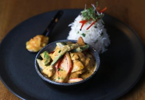 Thai Red Chicken and Vegetable Curry