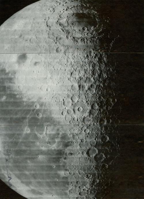 Lunar Orbiter 4, mai 1967 Mare Orientale,