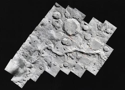 Viking Orbiter, mai 1980 Ma'adim Vallis,