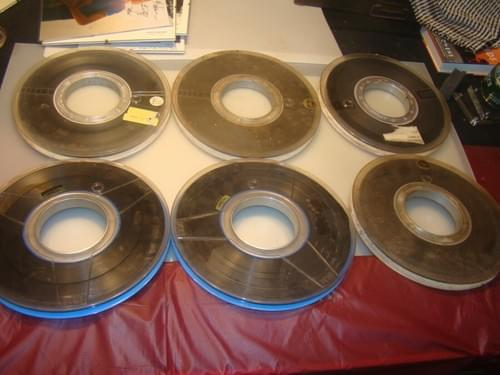 Pionner 1958 : 6 Reels of Computer Tapes From NASA