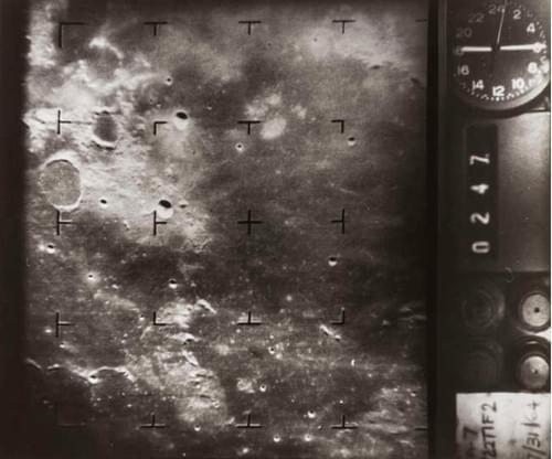 Lunar surface Ranger 7 July 1964