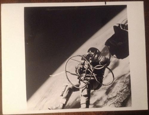 NASA GEMINI IV ED WHITE EVA First American Spacewalk June 3