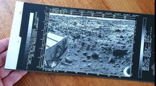 NASA JPL Mars Viking Photo