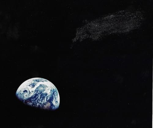 Apollo 8 Famous Earthrise picture