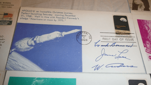 APOLLO 8 (May 5, 1969) & APOLLO 9 U.S. FDC'S Collection of (19) MINT
