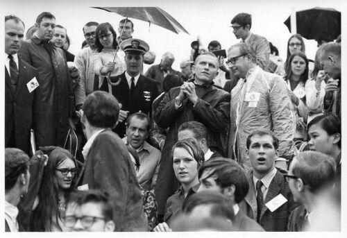 APOLLO 12 President Nixon Attending Launch
