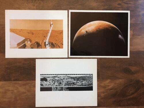 NASA VIKING  OFFICIAL PHOTOS - MARS 1976 & 77