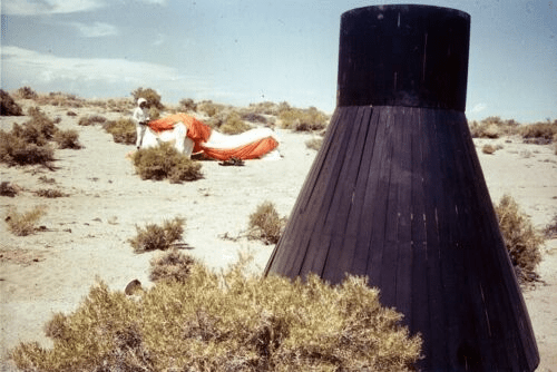 ASTRONAUTS Transparency - Desert Training
