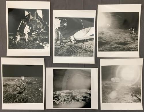 Apollo 12 Lunar Surface Official NASA EVA Photographs