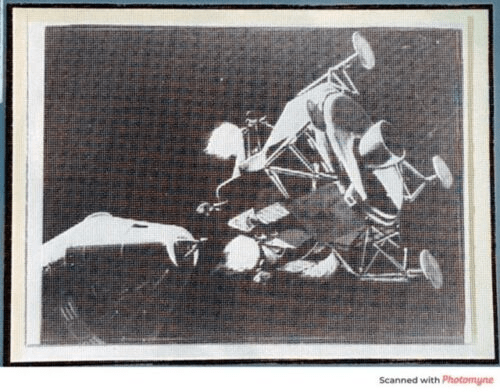 Original Apollo Program Master Negative IBM Document Card NA Rockwell / NASA 9