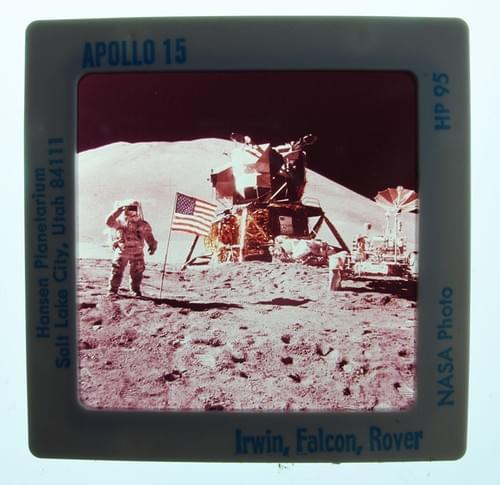 35mm Slides NASA Face of the Moon