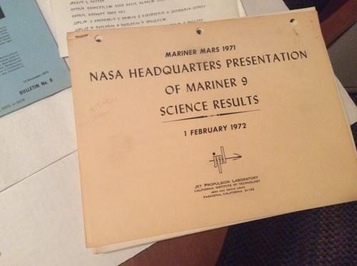 NASA MARINER VENUS 1971-1973