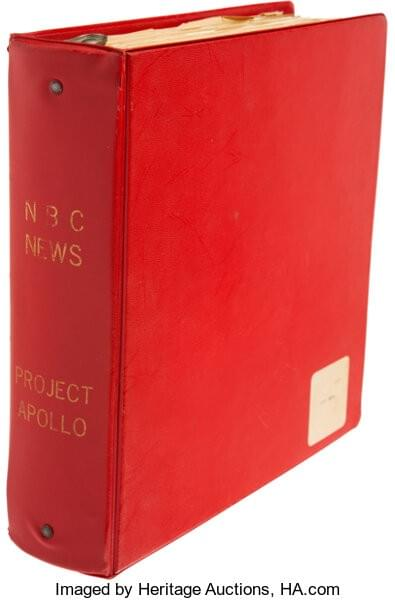 Apollo Project : Gigantic NBC News Reference Binder