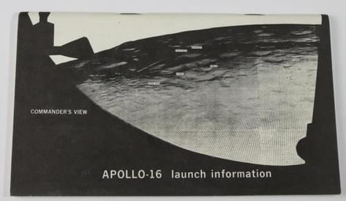 Apollo 16 Launch Information Booklet