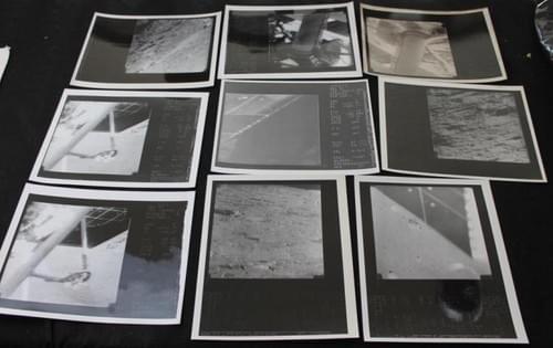 Vintage Surveyor NASA Glossy Photos