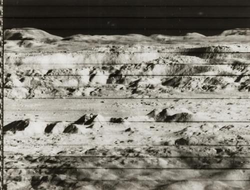 Copernicus Crater, Lunar Orbiter II, November 1966.