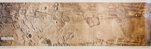Apollo 11 Lunar Module Ascent Monitoring Training Chart
