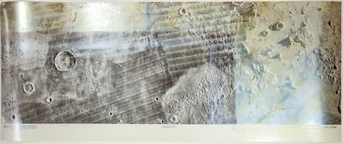 Command Service Module (CSM) Lunar Orbit Monitor Chart